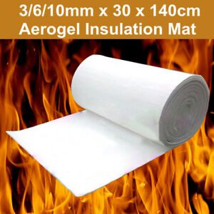 30x140cm 3 6 10mm Super Light Silica Aerogel Insulation Hydrophobic Mat Material