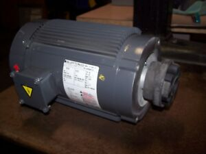 New Blufton 2 Hp Ac Electric Motor 56 Frame 1725 Rpm 230 460 Vac Tefc 3 Phase