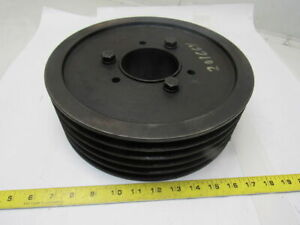 5 5v118e d 12 Dia 5 Groove V belt Pulley Sheave 3 3 8 Bushed Bore