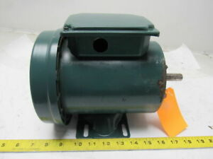 Reliance Electric P56h5068u 1 2hp 1725rpm Motor 3ph 208 230 460v Ec56 Frame