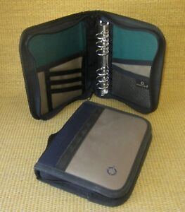 Compact 1 Rings x2 Green Blue Durable Sport Franklin Covey Planner binder