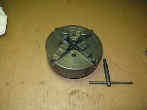 Skinner 4 Jaw 6 Lathe Chuck Model 4006 47 1 1 2 X 8tpi South Bend Atlas Usa