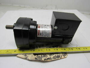 Maxi torq 6z916 12 9 1 Ratio 139rpm 1 20 Hp 90vdc Dc Gear Motor