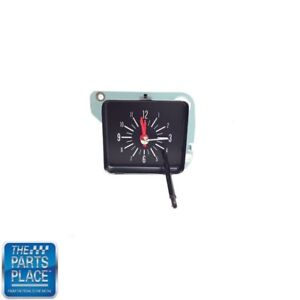 1970 1972 Nova Chevy Ii Dash Clock With White Numbers Quartz Movement Each