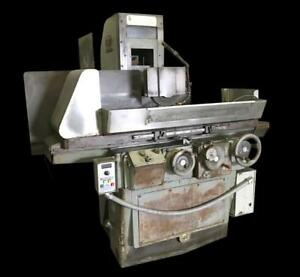 Brown Sharpe 1224 Micromaster Surface Grinder W 12 X 24 Magnetic Chuck 220v