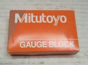 Mitutoyo Steel Square Gage Block Asme Grade As 1 1 005 Mm Length 614525 541