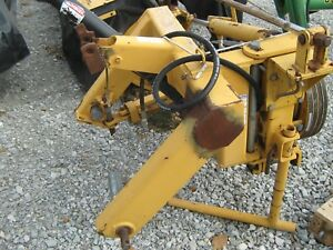 Used Vermeer 7020 Disc Mower Hay Cutter Farm Tractor Equipment Sickle Bar Caddy