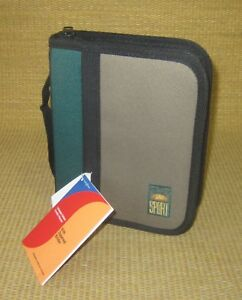 Compact 1 Rings new Green brown Durable Sport Franklin Covey Planner binder
