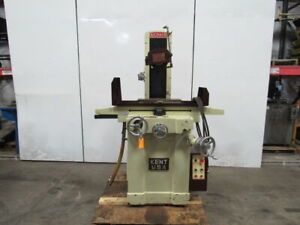 Kent Kgs618 Manual Surface Grinder W 6 X 18 Magnetic Chuck 220 440v 3ph