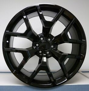 20 Gmc Sierra Honeycomb Wheels Gloss Black Fits For Tahoe Silverado Suburban