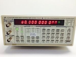 Stanford Research Cg635 Synthesized Clock Generator