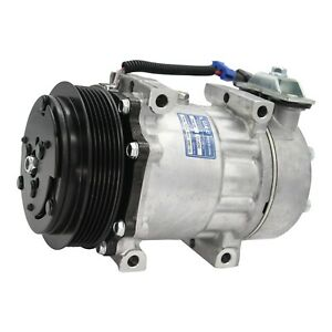 Peterbilt Kenworth Truck Ac Compressor 4039 4731 4424 Sanden Type W Clutch