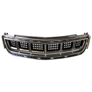 Replacement Bumper Cover Grille For 13 17 Cadillac Xts Front Gm