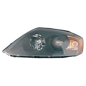 Replacement Headlight Assembly For 05 Tiburon Front Driver Side Hy2502146c