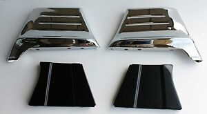 1956 Chevrolet Car Fender Extensions 4 pieces Kit New Wow Free Shipping