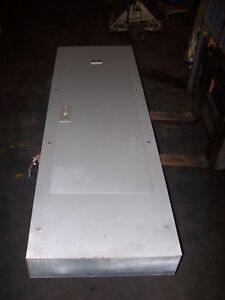 Square D 400 Amp Main Breaker I line Panelboard 42 Circuit 208y 120 Vac 3 Phase