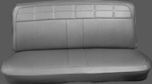 1962 Impala 4 Door Sedan Wagon Front Straight Bench Seat Covers Pui