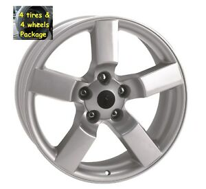 4 20 Ford Lightning Style Tires Wheels Package Silver Set Fits 97 04 F150