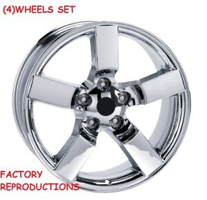 4 20 Chrome Lightning Style Wheels Fits 1967 To 1996 Ford F150 Rims Set