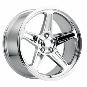 4 20x9 5 20x10 5 Staggered Demon Style Wheels Chrome Challenger 300 Charger Set
