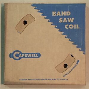 Capewell 100 Foot Coil Metalworking Bandsaw Blade 3 Teeth Per In Flexible Carbon