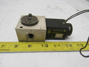 Joucomatic 833 990835 Sentronic Pneumatic Solenoid Valve 20v 1 2a 1 4 Ports