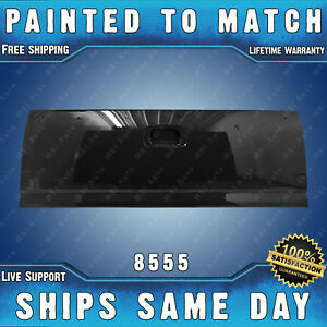 New Painted 8555 Black Tailgate Shell For 1999 2006 Chevy Silverado Gmc Sierra
