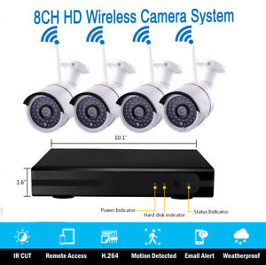 Wireless 7 tft Lcd 2 4ghz Cctv Dvr Video Recorder Ir cut Camera Security System