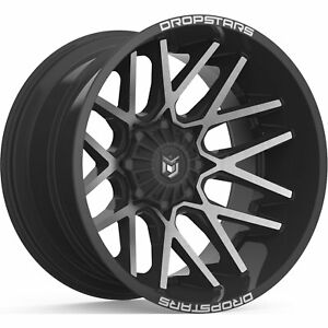 22x10 Black Machined 654mb 6x135 6x5 5 25 Rims Country Hunter Mt 40 Tires