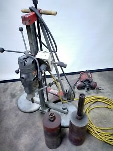 Milwaukee 4114 Vac u rig 4034 Core Drill 6 Core Drilling Rig With Coring Bits