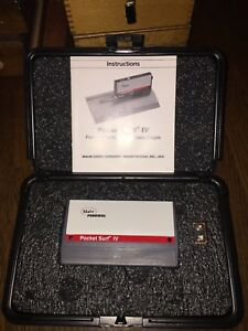 Mahr Federal Pocket Surf Iv Portable Surface Roughness Gage