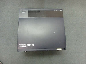 Panasonic Kx tda600 Ip Pbx Cabinet With Covers No Power Processor Or Cards