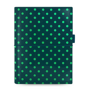 Filofax A5 Domino Patent Organiser Planner Notebook Diary Pine Spots 022518 Gift