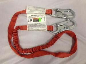 New Klein Tools 87473 6 Ft Nylon Lanyard Fixed Length fall Arrest Systems