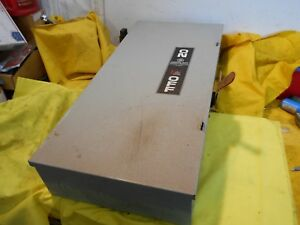 General Electric Tgn 3324 Non Fused Safety Switch Disconnect Enclosure 200 Amp