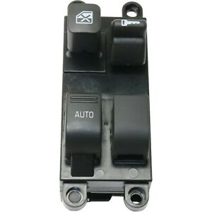 New Power Window Switch Front Driver Left Side Black Lh Hand 254018b800
