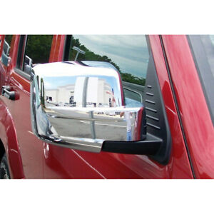 2008 2012 Jeep Liberty Chrome Mirror Covers Set Of 2
