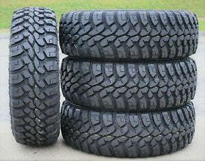 4 New Forceum M T 08 Plus Lt 265 70r17 Load E 10 Ply Mt Mud Tires