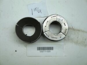 Hardinge S22 Collet Pad Set 1 15 64 Round Smooth New And Good Used Mixed