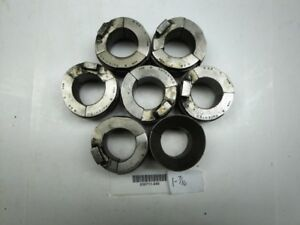 Hardinge S22 Collet Pad Set 1 7 16 Round Smooth Good