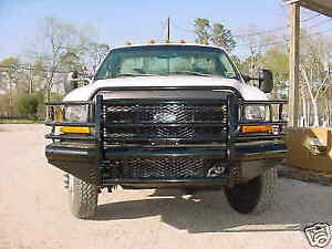 New Ranch Style Front Bumper 99 00 01 02 03 04 Ford F250 F350 Super Duty Excursi
