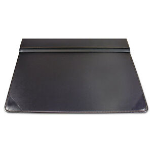 Artistic Executive Desk Pad Organizer With Storage Matte Finish 22 X 17 Black