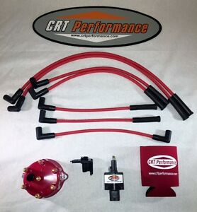 Jeep Cherokee 45k 4 0l Ignition Tune Up Kit Xj 1991 1993 Red Cap Red Wires
