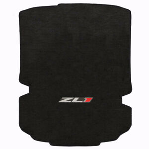 Lloyd Mat Velourtex 1 Pc Trunk Mat Ebony 2016 2019 Camaro Coupe Zl1 Logo