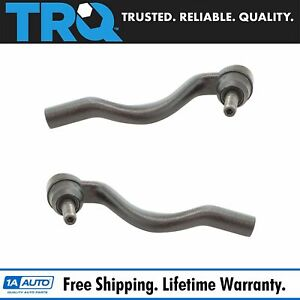 Outer Tie Rod Pair Driver Passenger Sides For Dodge Durango Jeep Grand Cherokee