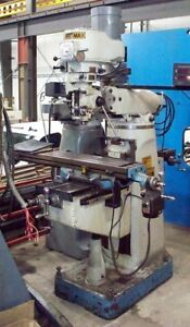 9937 Supermax Vertical Milling Machine