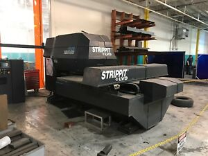 33 Ton Strippit 1000s Cnc Thin Turret Punch