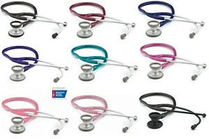Adc Adscope 606 Ultra lite Lightweight Cardiology Stethoscope 9 Color Choice