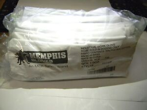 Memphis Pvc cotton Work Gloves Size Ladies Medium Qty 8 Dozen 9875m