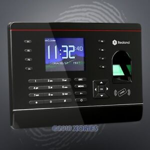 New Fingerprint And Rfid Card Attendance Time Clock For Track Employee Time